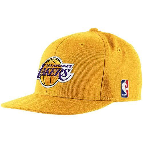 fb29045024db0 adidas NBA los angeles LA lakers yellow gold classic showtime logo fitted cap  hat 7 5 8