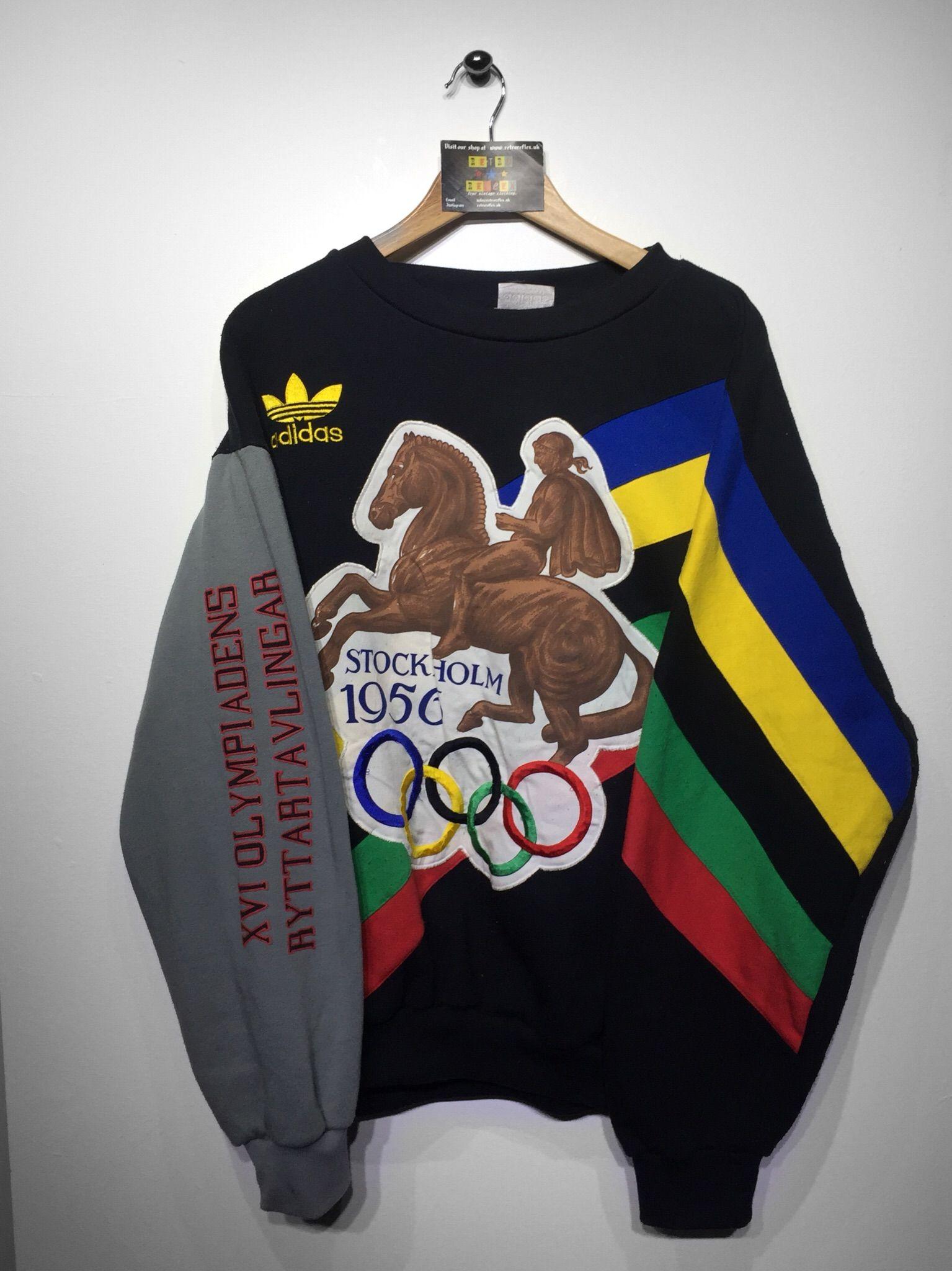 Adidas Stockholm Olympics sweatshirt | Sweatshirts, Vintage