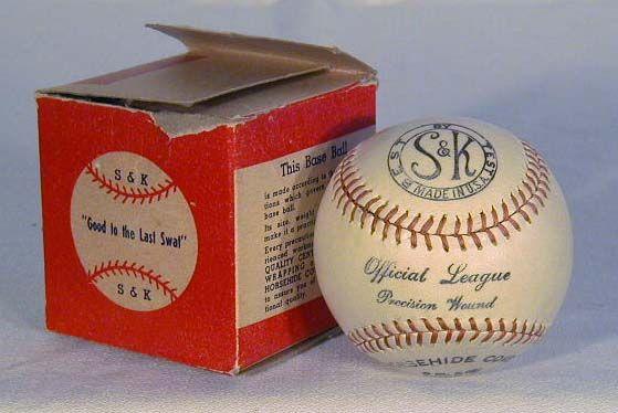 Official League Baseball Box, digging that negative space logo.