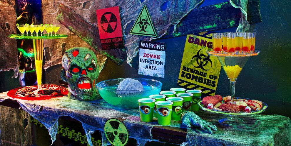 Zombie Decorations - Zombie Party Supplies - Party City party city - halloween party decorations cheap