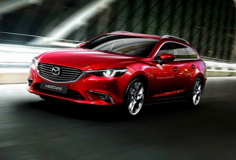 The 2015 Mazda6 is a fiveseat, frontwheel drive midsize