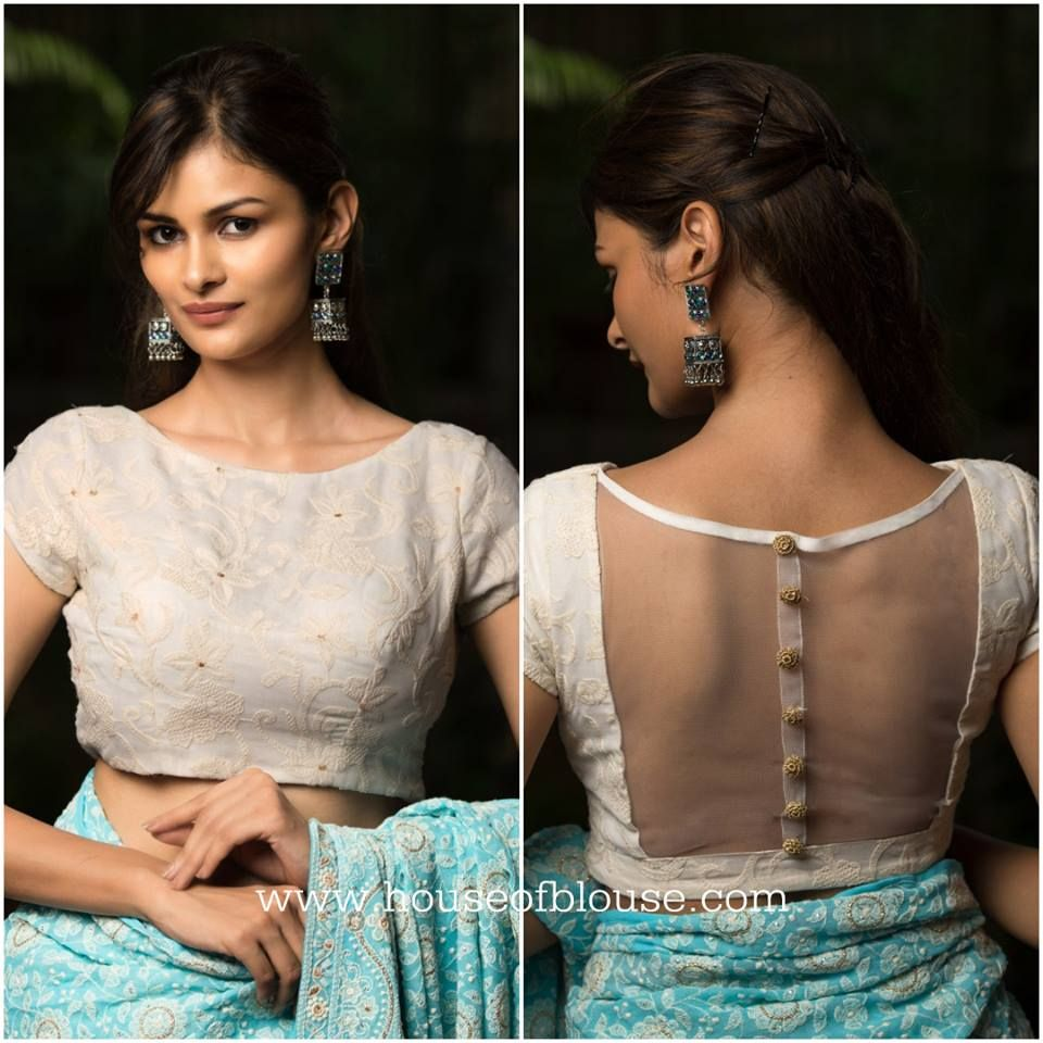 Pin On Sari Blouses