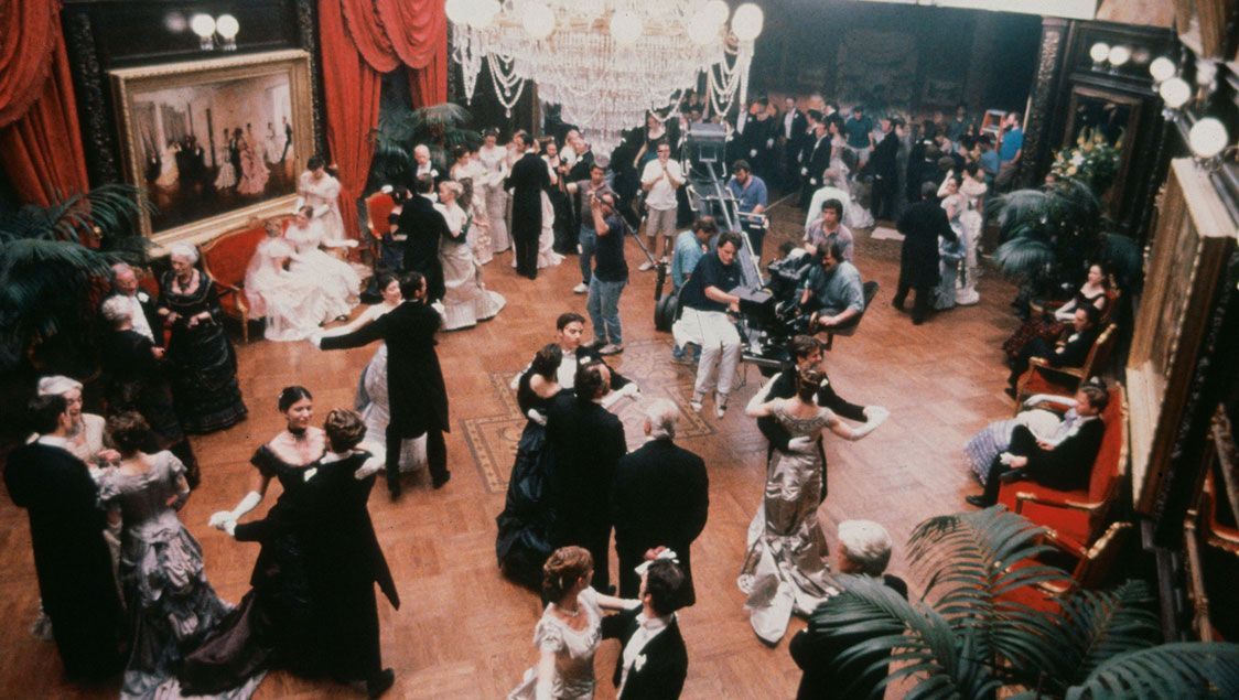 the age of innocence behind the scenes | ... retrospective-filming-a-scene-for-the-age-of-innocence-1993.jpg
