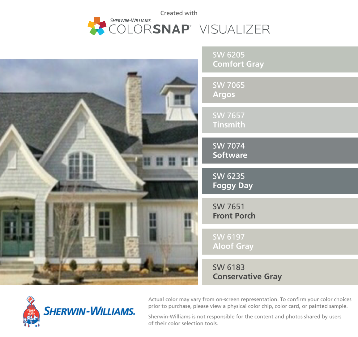 Paint Color Matching App Colorsnap Paint Color App Sherwin Williams Exterior Gray Paint Exterior Paint Visualizer Sherwin Williams Paint Colors
