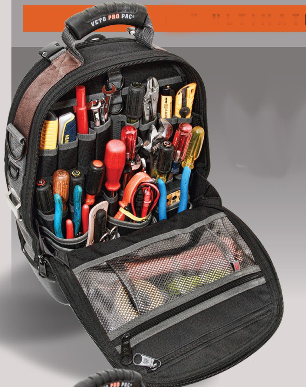Large Capacity Waterproof Tool Bag Electrician Plumber Portable Screws Drill Bit Storage Pouch Hand Repair Tool Organizer Case Tool Organizers