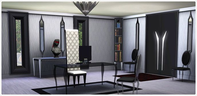 Gothic Glamour  Home Office Set   Store   The Sims™ 3