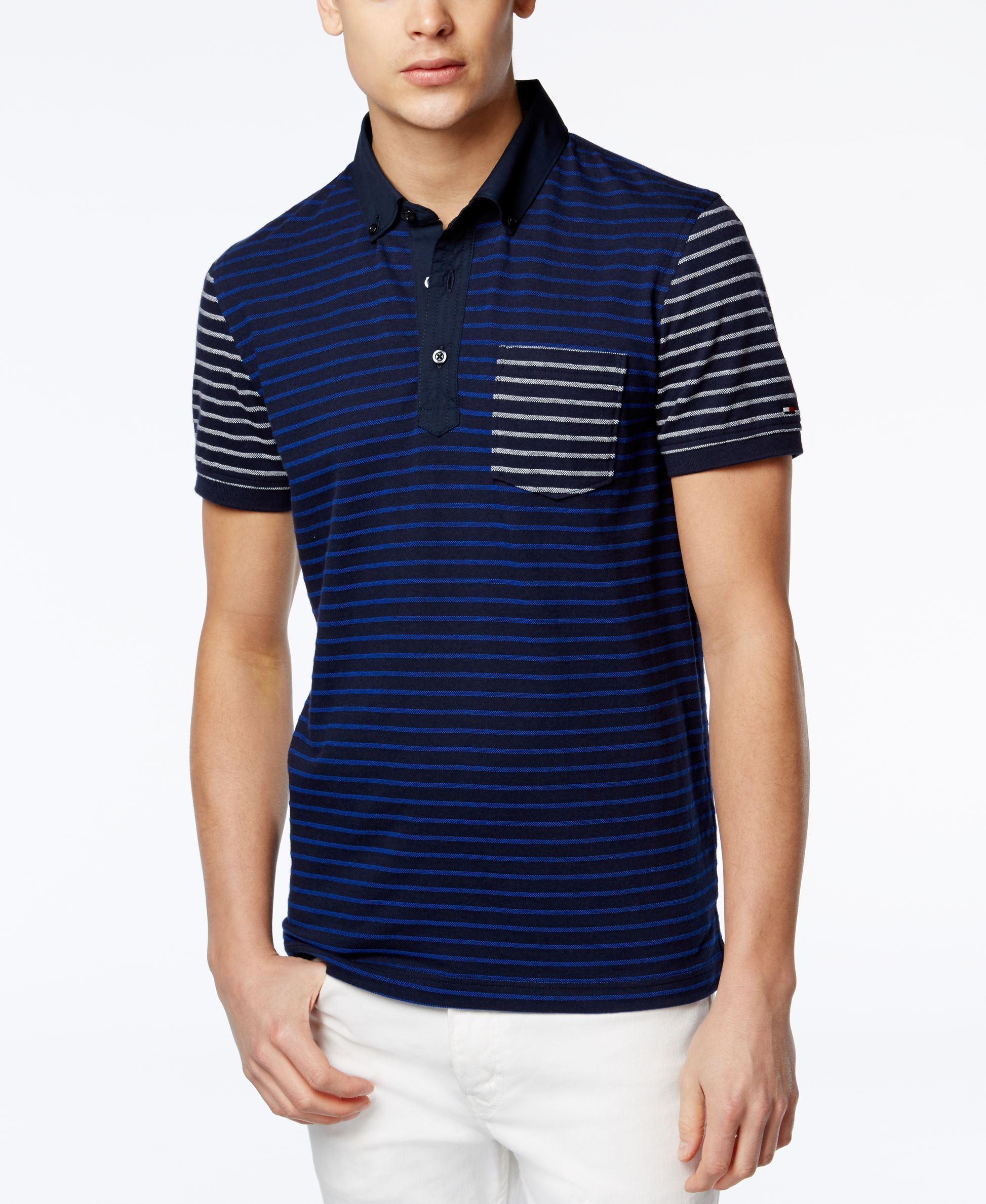 019dcf47 Best Designer Polo Shirts: Tommy Hilfiger. Bently Polo Shirt. | Follow  rickysturn/mens-fashion for more men's fashion trends & tips