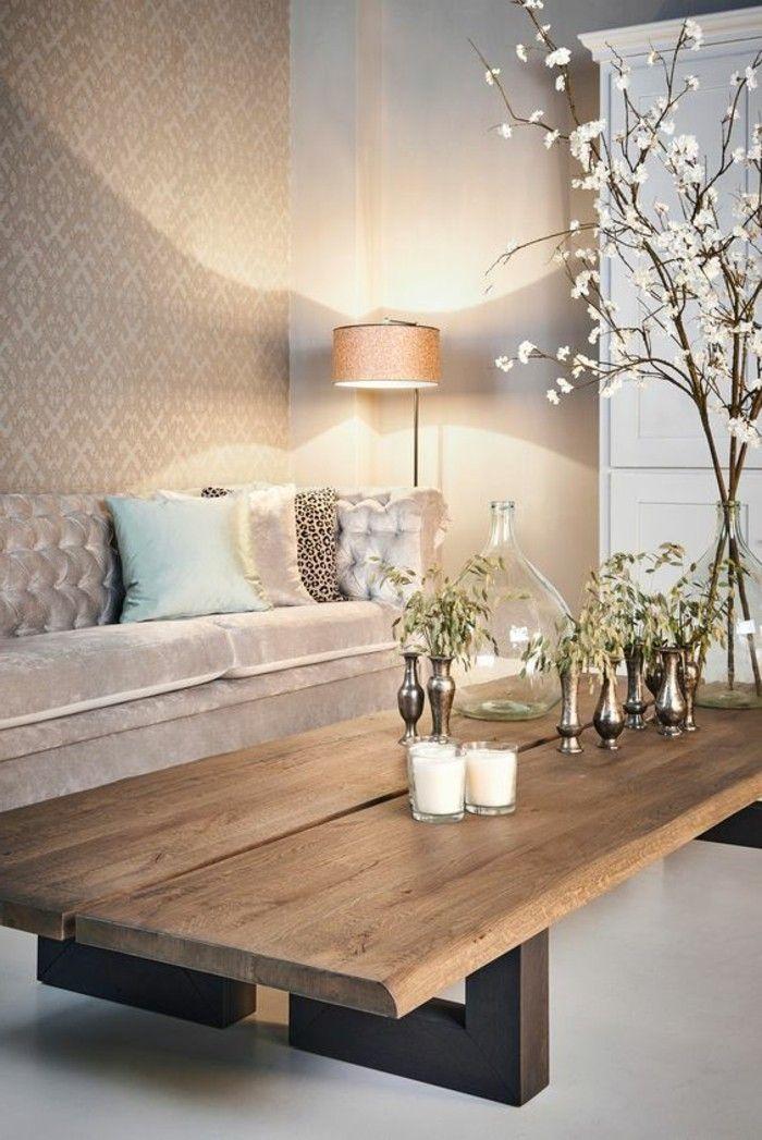 Tapeten Ideen für eine ausgefallene Wandgestaltung   Wohnzimmer gestalten, Wohnzimmer design und ...