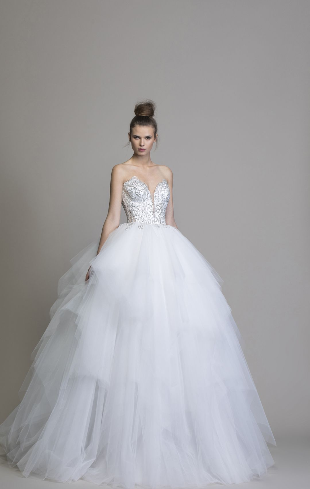 Brand New Love By Pnina Tornai Ball Gown Wedding Dress Available At Kleinfeld Bridal Style 14757 Tu Pnina Tornai Wedding Dress Kleinfeld Bridal Ball Gowns