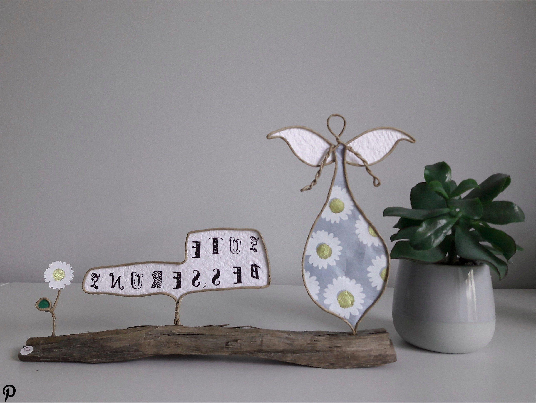Papierdrahtfigur: Engel 'Cori' - Schutzengel - hochwertiges Geschenk - Gute Besserung mit Blumen für Papierdrahtfigur: Engel 'Cori' - Schutzengel - hochwertiges Geschenk - Gute Besserung mit Blumen für den Lieblingsmenschen