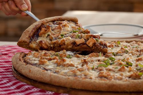 PIZZA: BBQ Chicken with Smoked Bacon - Chew Out Loud