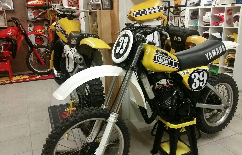Yamaha Yz 125 Ow27 Bob Hannah Replica Restore
