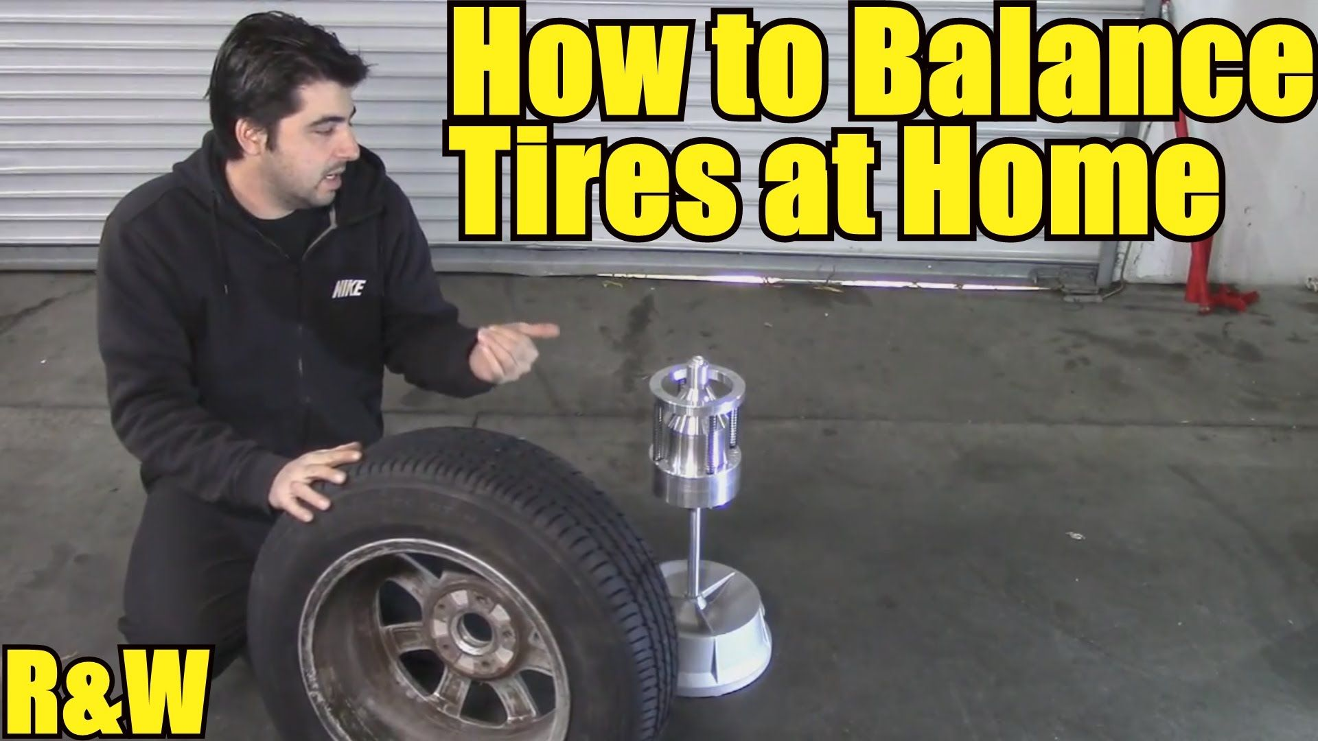 How to Balance a Tire Yourself Using a Bubble Balancer
