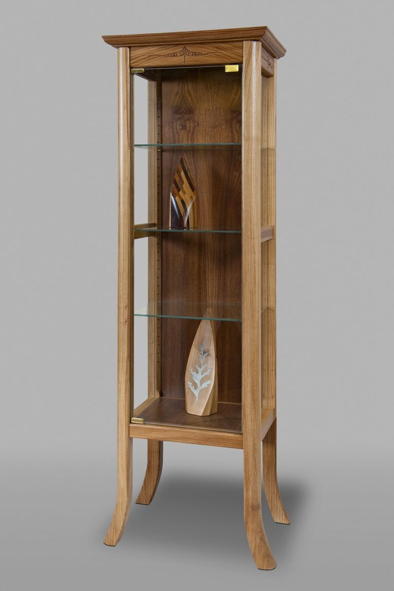 Lovely Custom Made Curio Cabinet