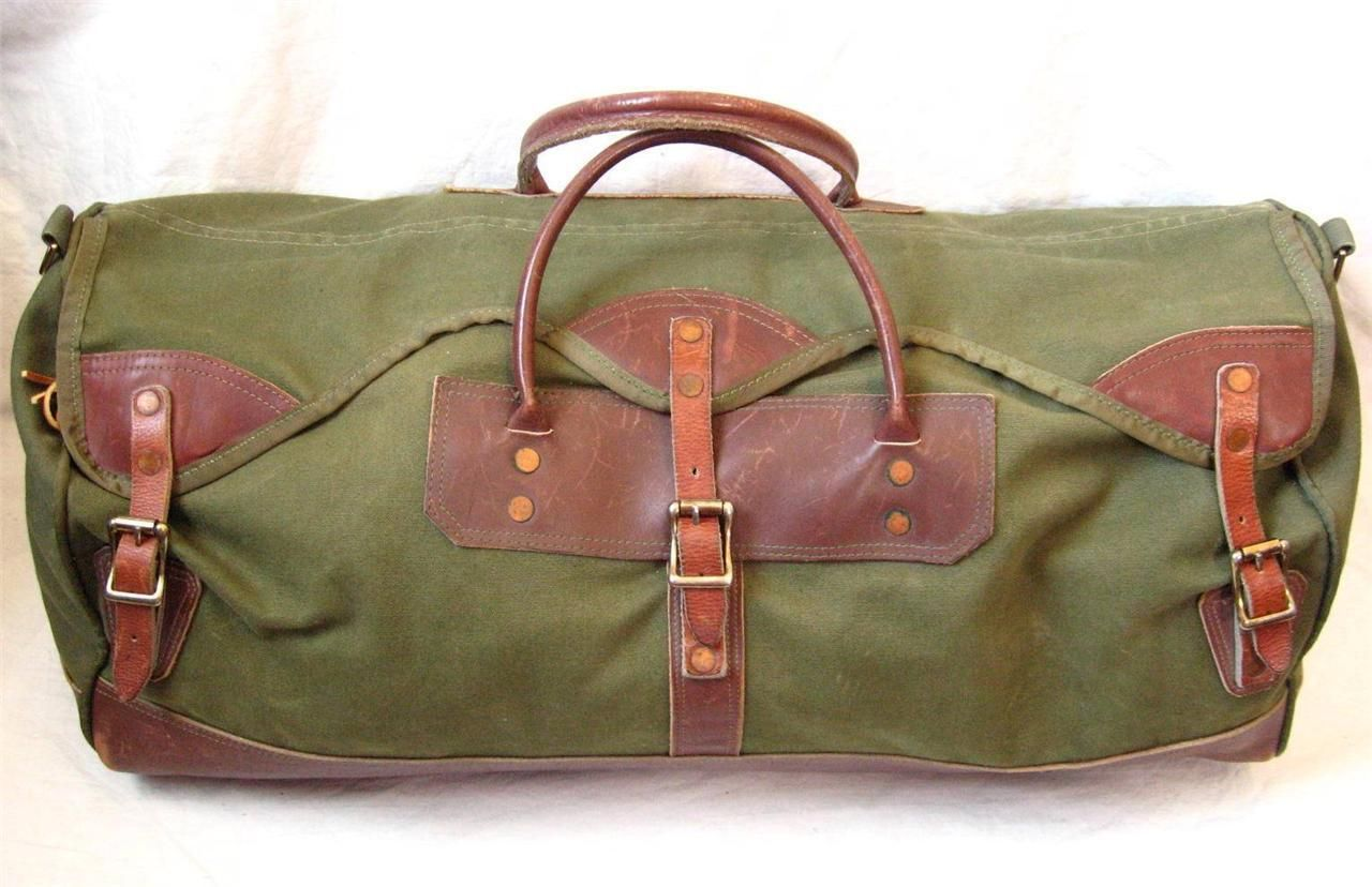 "Waxed Canvas Satchel Bag Goat Leather 13/"" MacBook WCS14 Handmade Laptop YKK Zip"