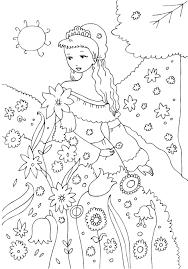Imagini Pentru Printesa Primavara De Colorat Princess
