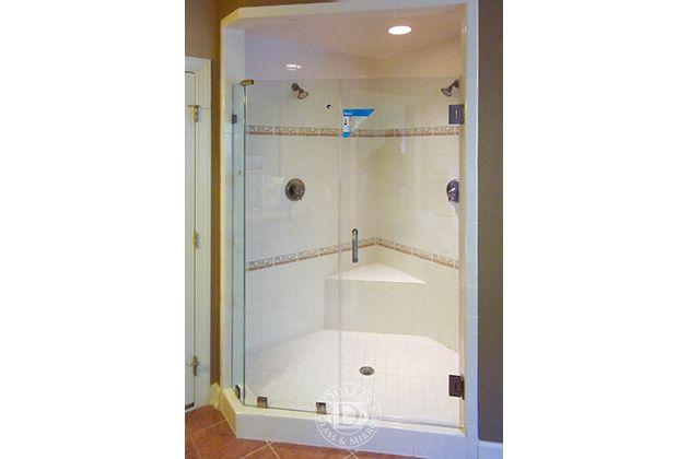This Glass Shower Door Has Neo Angle Shower Frameless Shower Doors