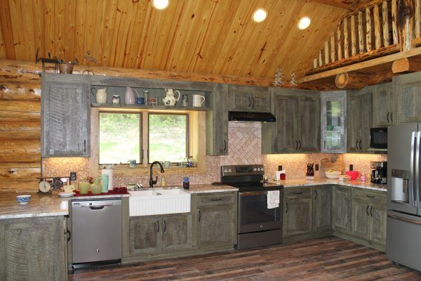 Pin By Kalispell Montana Log Homes On Kalispell Montana Log Homes Cabin Interiors Home Home Diy