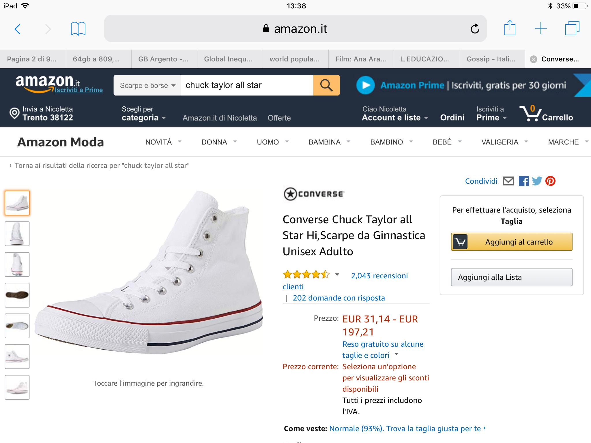 Pin By Neeckla On Cose Da Comprare Converse High Top Sneaker High Top Sneakers Converse Chuck Taylor High Top Sneaker