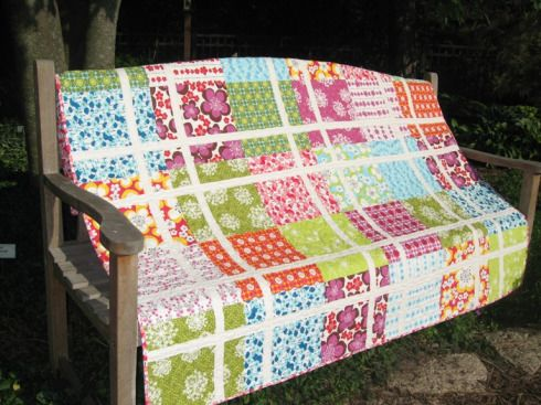 Pretty in Pink quilt from the book Living Large by Heather Mulder Peterson