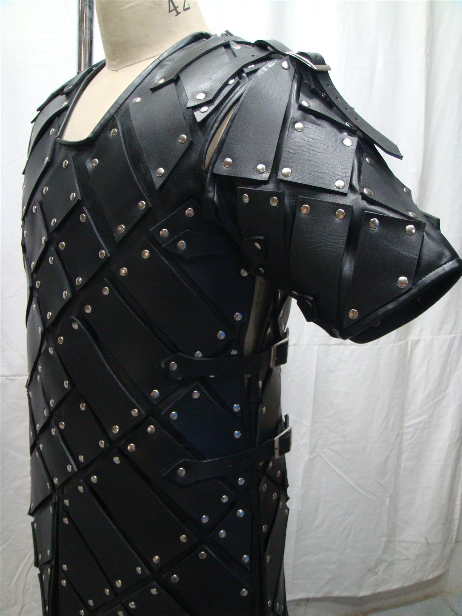 MEDIEVAL VEST ARMOR COSTUMES DRESS GENUNINE LEATHER SCA//LARP COSTUMES DRESS