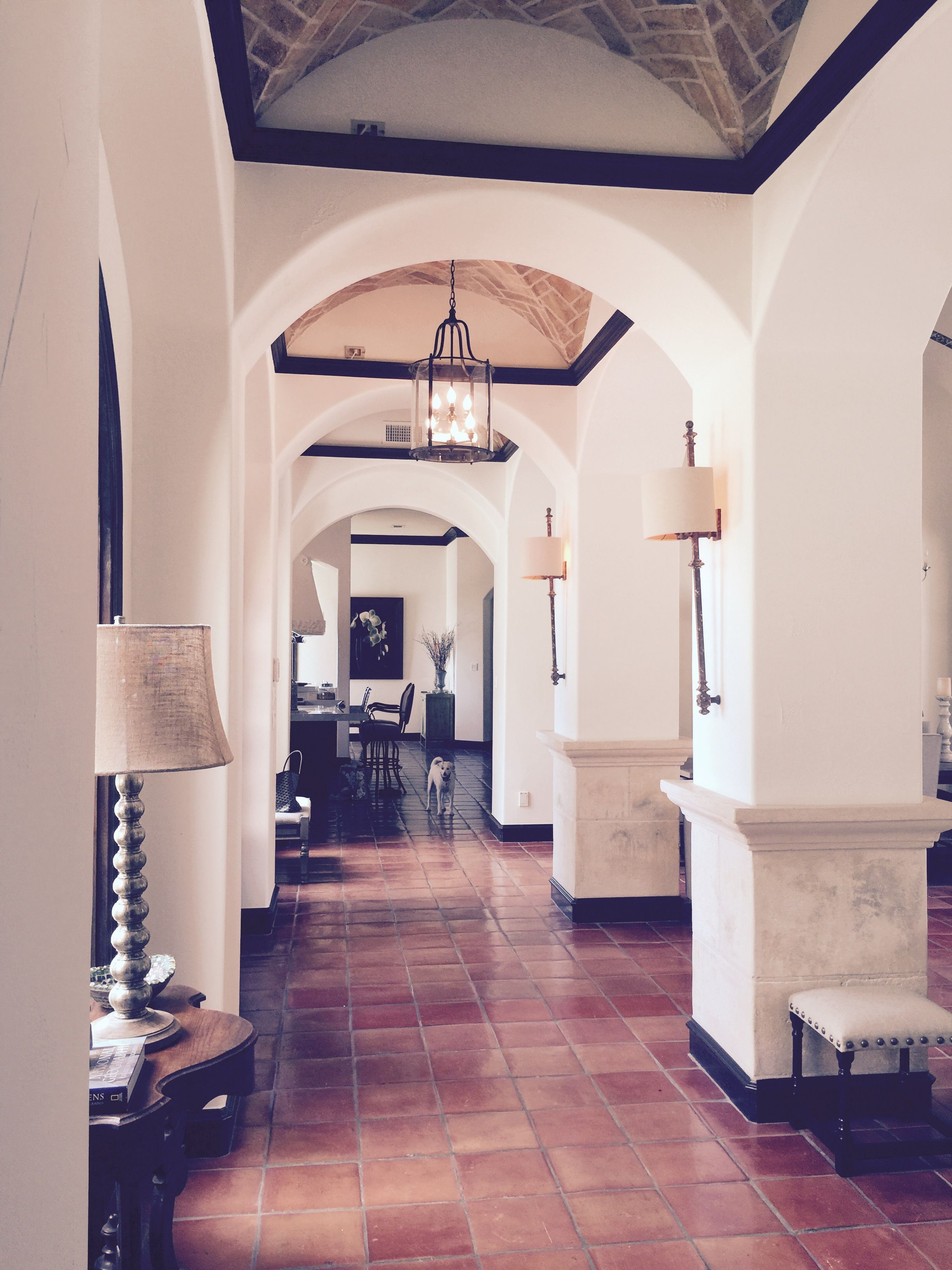love the tile and arches