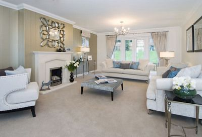 Living Room Shows Property Let's Face It  When Most Of Us Think About Buying A New Build .