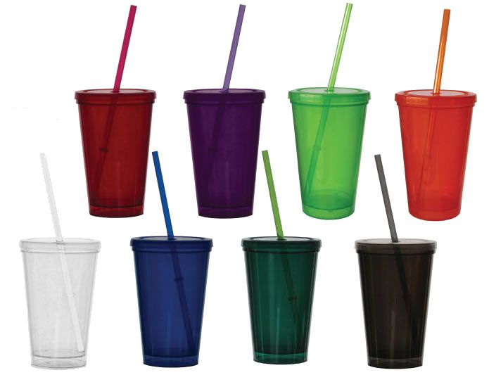 Bolero Tumblers- Made in the USA  Decorate for party favors