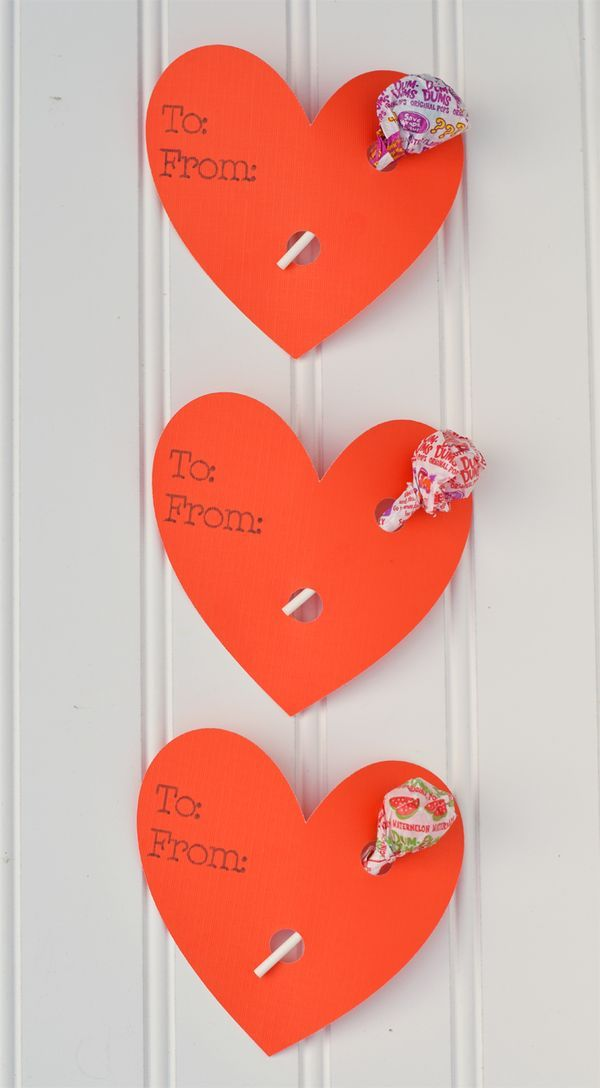 Easy Heart Lollipop Holder Valentines With The Cricut Explore Air 2 Diy Valentines Decorations Cricut Valentines Projects Valentines School