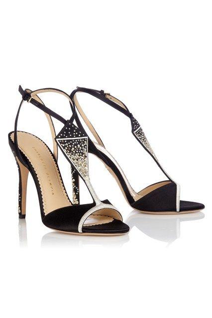 """Charlotte Olympia (Veuve Clicquot Collection) """"La Grande Dame"""" Sandals"""