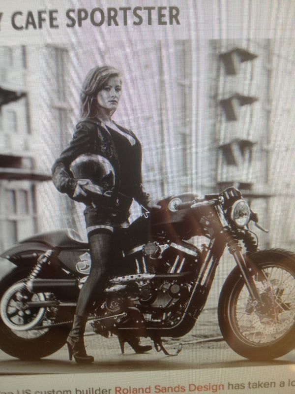 My goal is to look this good at 50 and have a cool bike :)