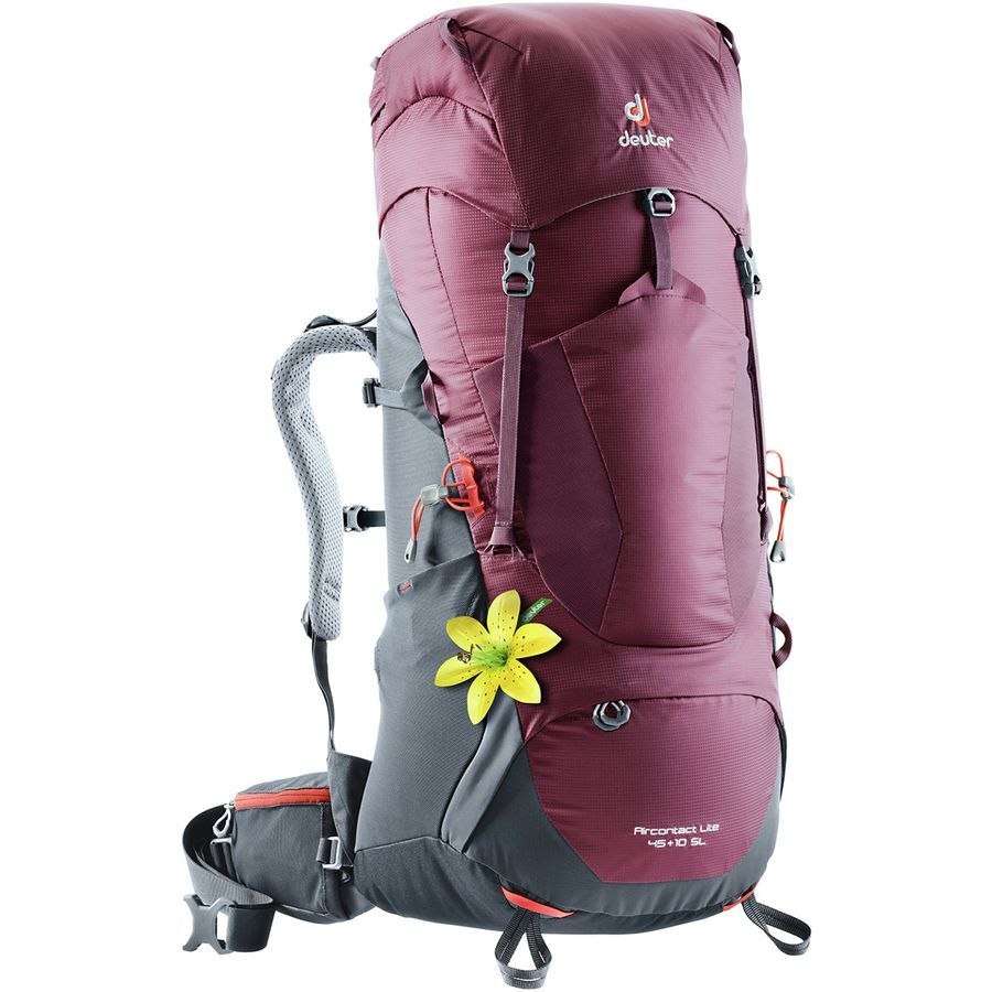 Deuter Womens Aircontact Lite 45 10 Sl Hiking Pack Travel Size Products Backpacks Hiking