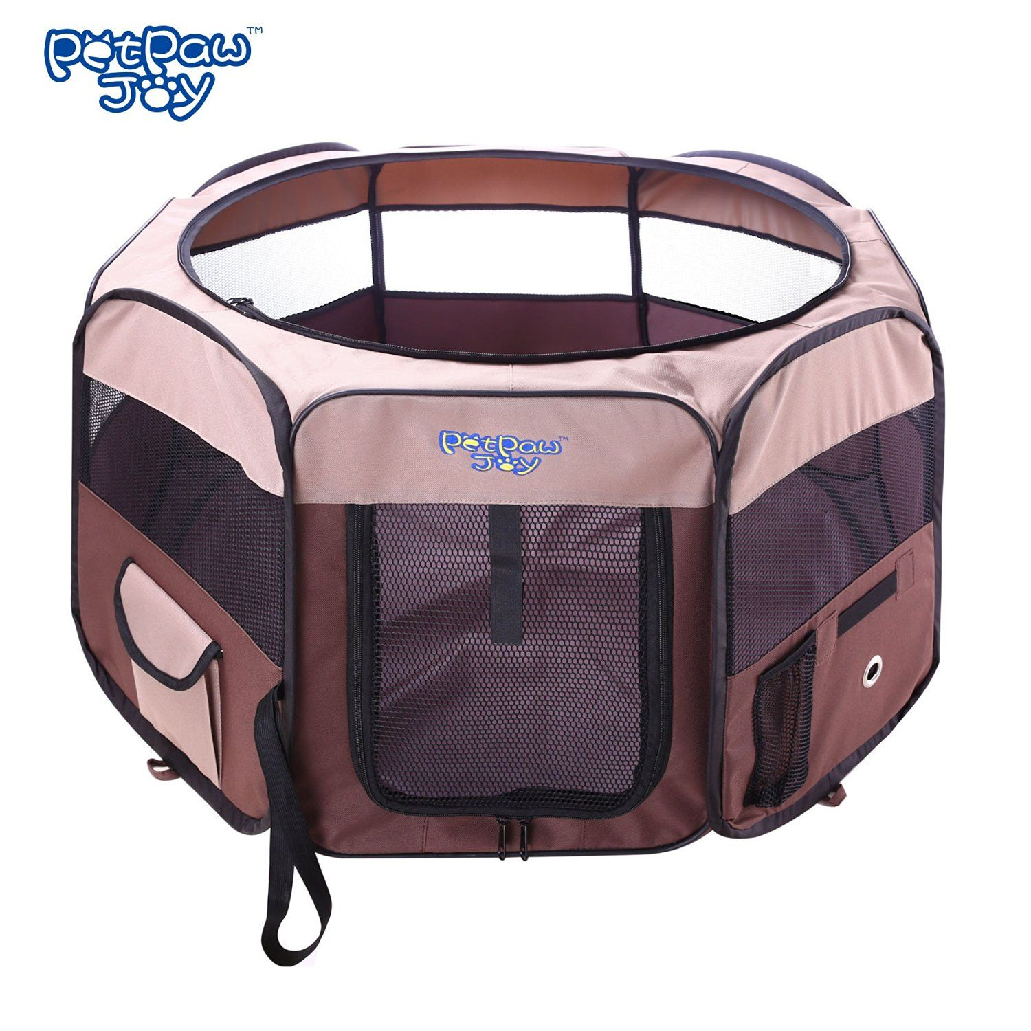 Dog Octagon Playpen Dog Popup Tent Playpen With Detachable Mesh