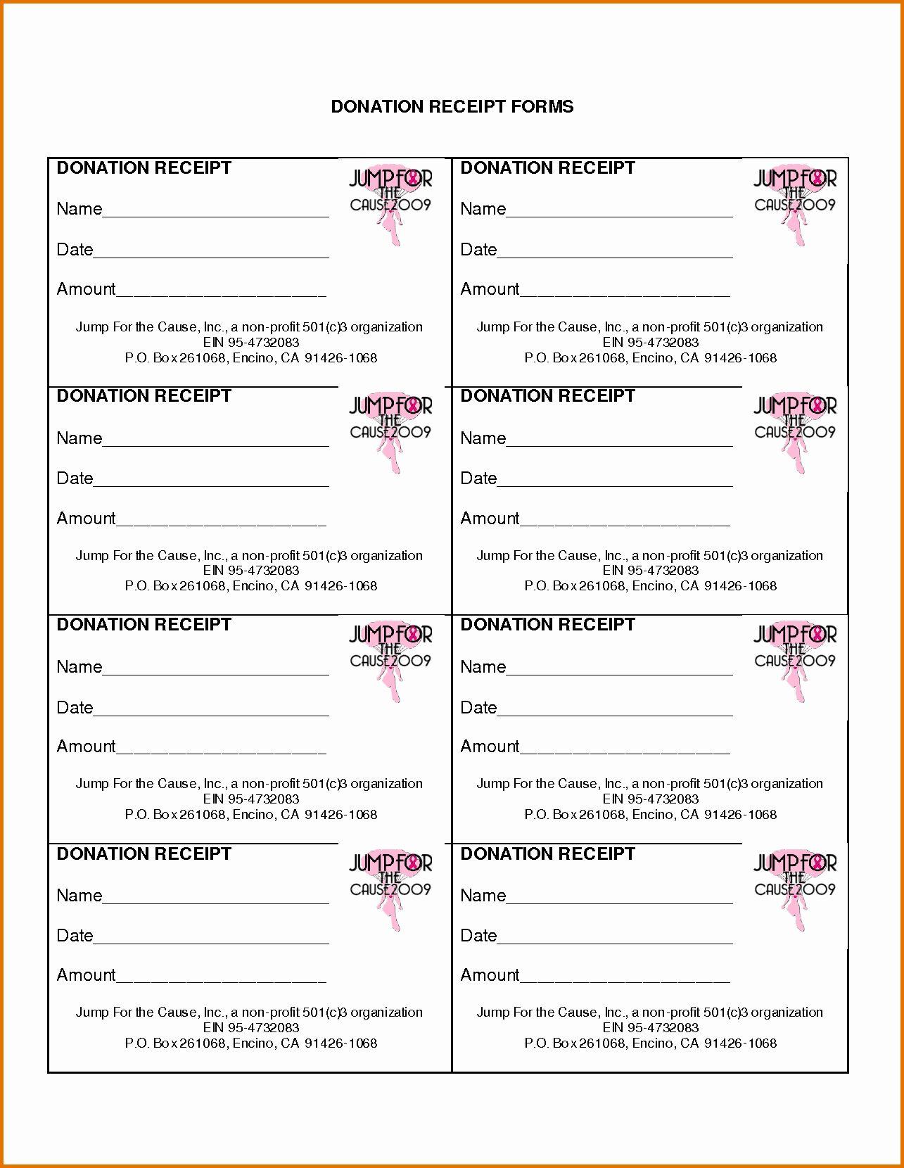 Non Profit Donation Card Template Elegant Non Profit Donation Receipt Templatereference Letters Donation Letter Receipt Template Non Profit Donations