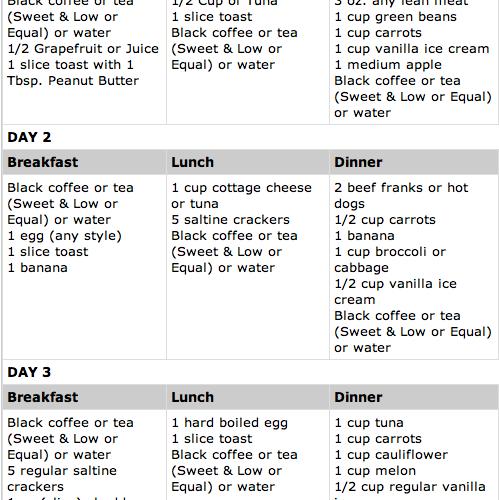 Winter diet plan to lose weight