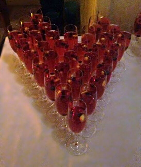Try a fruity non-alcoholic option for the drivers and younger members in your wedding party