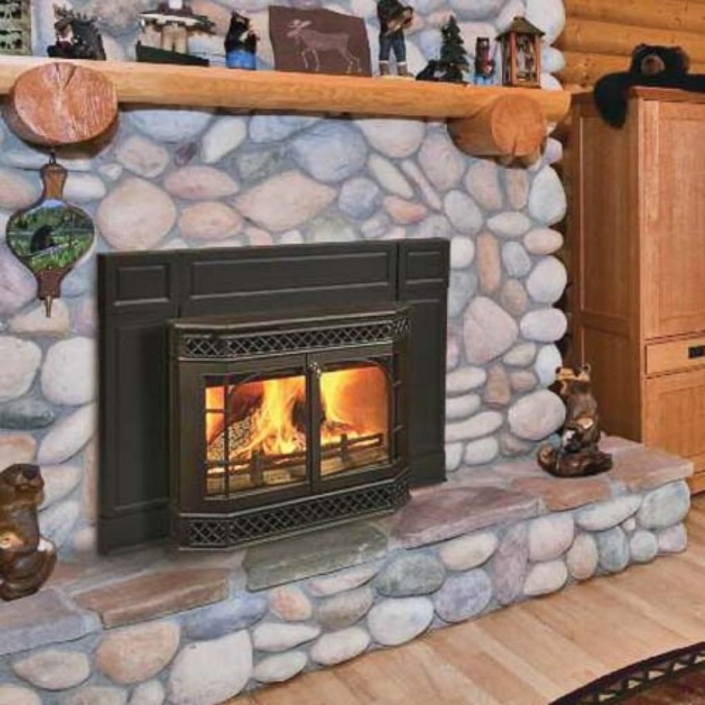 VERMONT CASTINGS WOOD BURNING FIREPLACE INSERTS  Basement