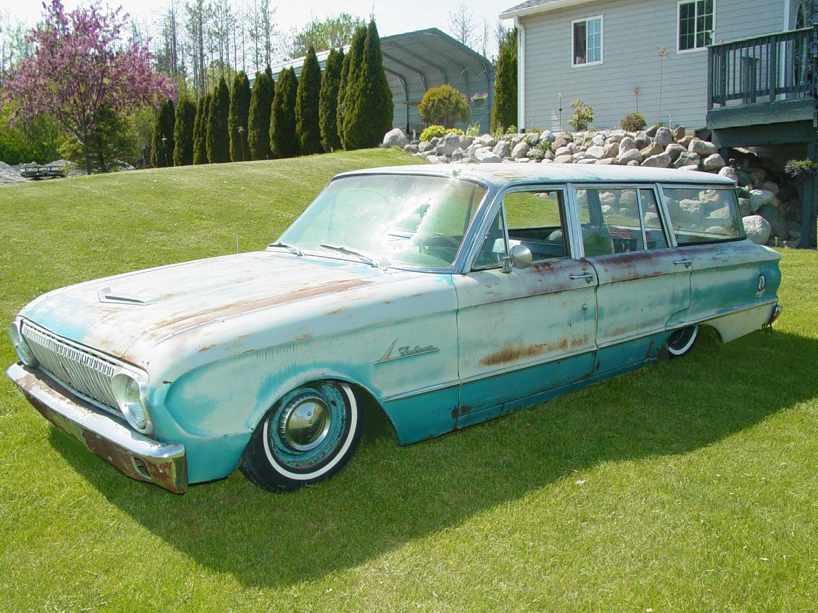 1963 falcon wagon bagged