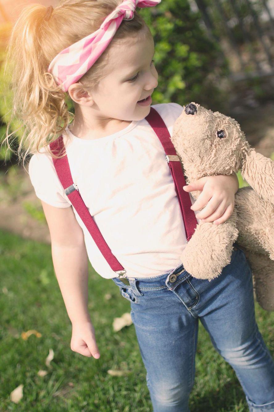 Toddler Suspenders, Girl Suspenders, Suspenders Outfit -4166