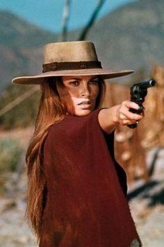 Raquel Welch The original Paris Cowgirl! Raquel welch