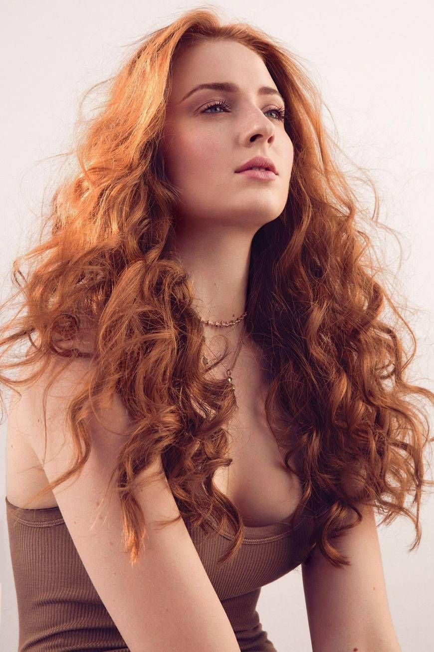 Blinded By The Light Red Hair Sophie Turner Redhead Beauty