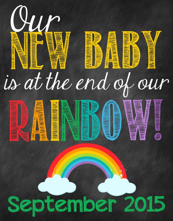 St Patrick's Day Pregnancy Announcement // by ChalkingItUpBoards