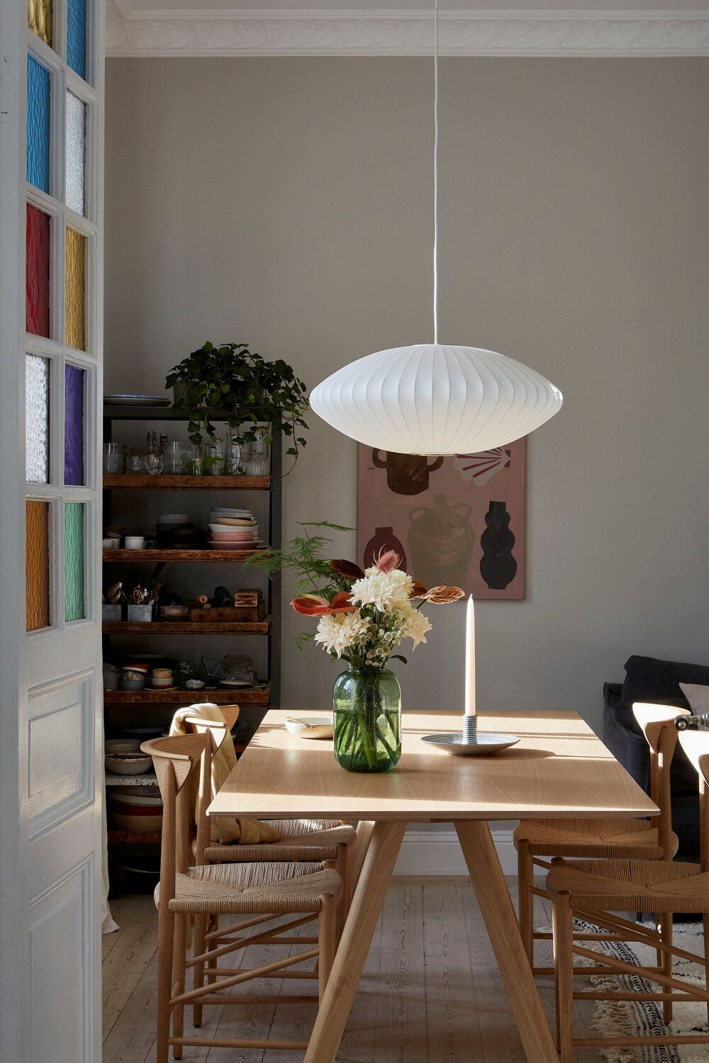 Photo of A Scandinavian Apartment With A Mint Green Kitchen — THE NORDROOM