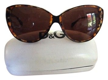 Dolce And Gabbana Cat Eye Sunglasses  $103