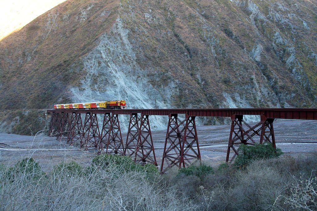 Tren a las nubes - Trestle bridges