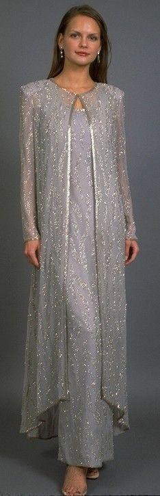 Plus size silver anniversary dresses