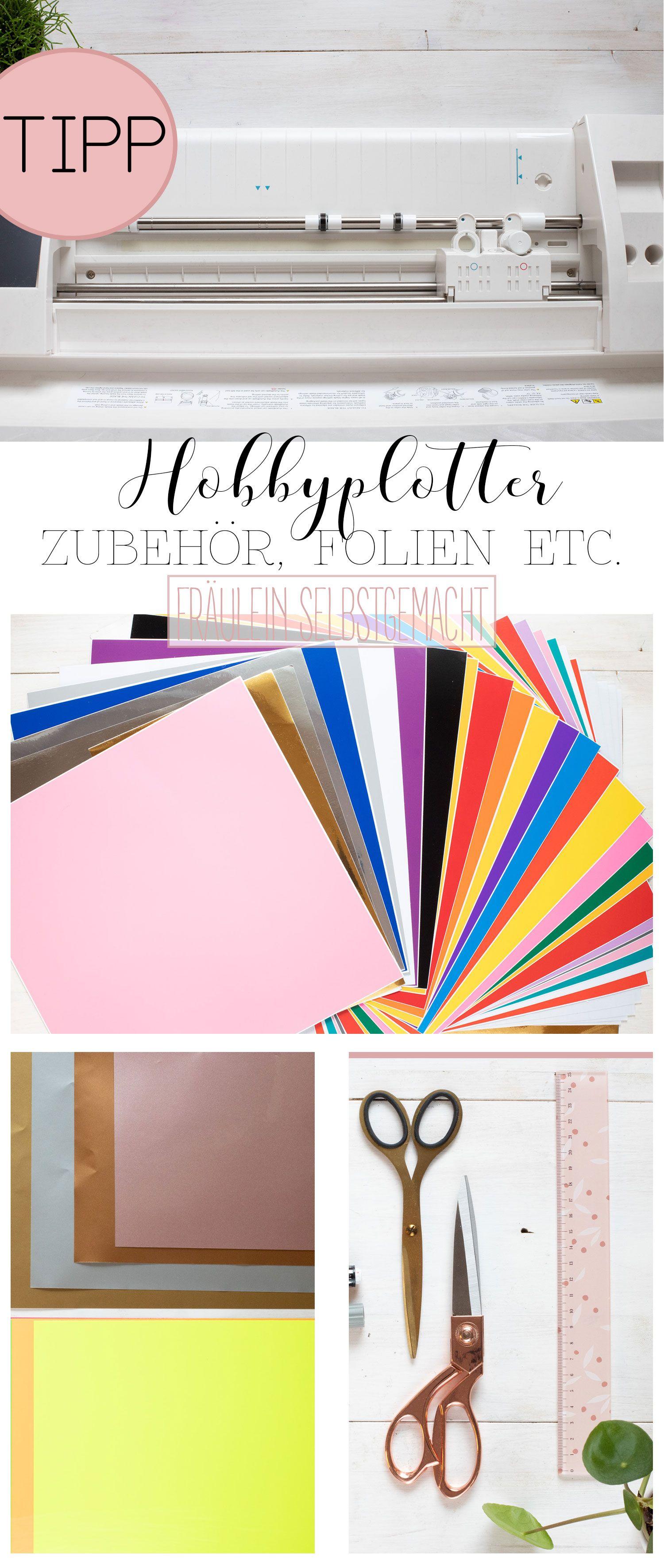 Hobbyplotter oder Schndeideplotter und Zubehör & Materialkunde #flowerfabric