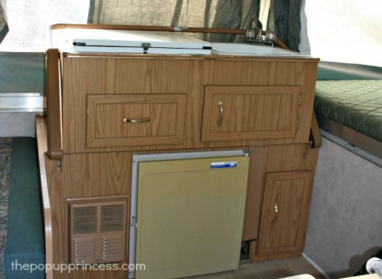 Pop Up Camper Remodel Painting The Cabinets Remodeled Campers
