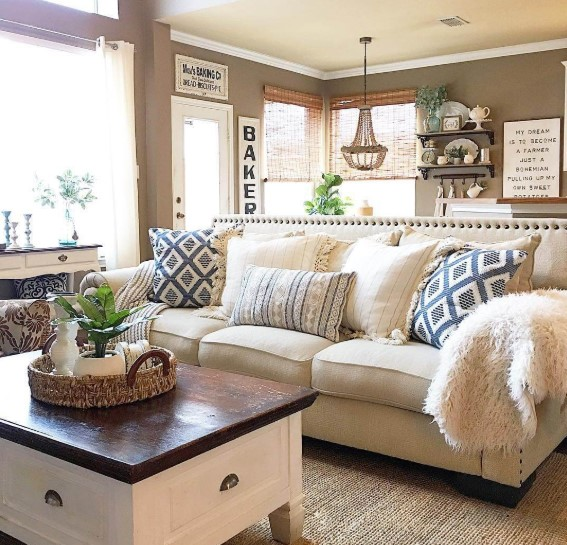 23 Charming Beige Living Room Design Ideas To Brighten Up