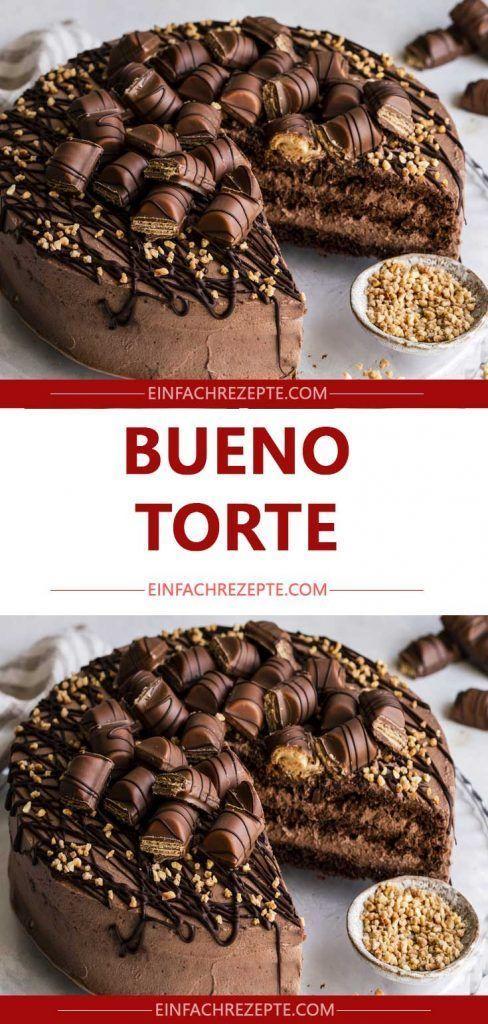 Bueno-Torte 😍 😍 😍 – 10. Geburtstag Tim